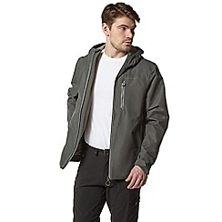 Craghoppers - Grey dino waterproof hooded jacket