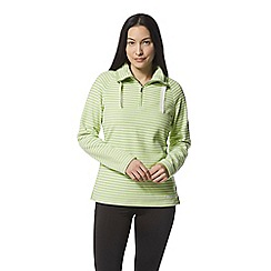 Craghoppers - Green 'Rhonda' half zip fleece