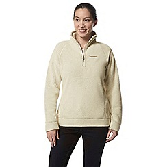 Craghoppers - Beige ambra half zip fleece