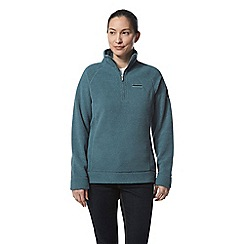 Craghoppers - Green ambra half zip fleece
