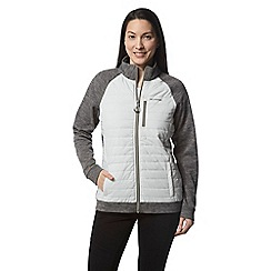 Craghoppers - Grey abree hybrid insulating jacket