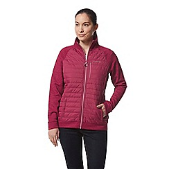 Craghoppers - Pink abree hybrid insulating jacket