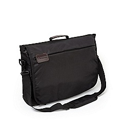 Craghoppers - Black 17' commuter laptop bag with rfid protection