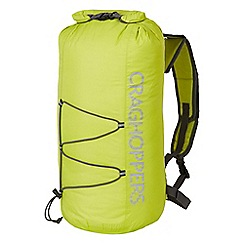 Craghoppers - Spring yellow 15l packaway waterproof rucksack