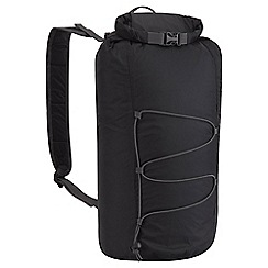 Craghoppers - Black 15l packaway waterproof rucksack
