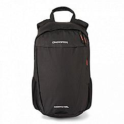 Craghoppers - Black 'Kiwipro' rucksack 15l