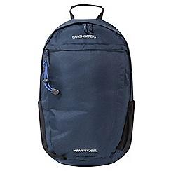 Craghoppers - Blue 'Kiwipro' rucksack 22