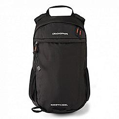 Craghoppers - Black 'Kiwipro' rucksack 22l