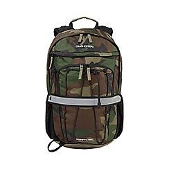 Craghoppers - Camo 30l kiwipro water-resistant rucksack