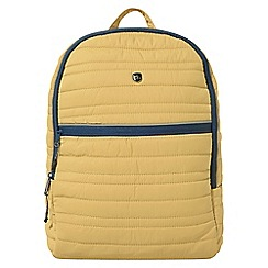 Craghoppers - Yellow compresslite backpack 16