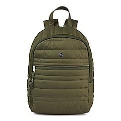 Craghoppers - Green compresslite backpack 7L