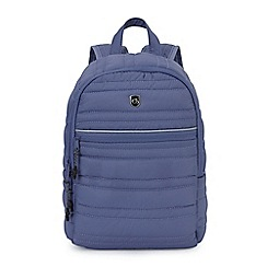 Craghoppers - Blue compresslite backpack 7L