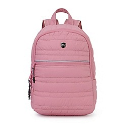 Craghoppers - Pink compresslite backpack 22