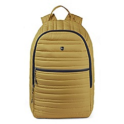 Craghoppers - Yellow compresslite backpack 22L