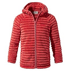 Craghoppers - Kids watermelon combo farley hooded insulating jacket