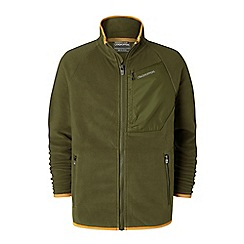 Craghoppers - Green 'Tully' fleece jacket