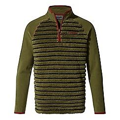 Craghoppers - Green 'Maddiston' half zip fleece