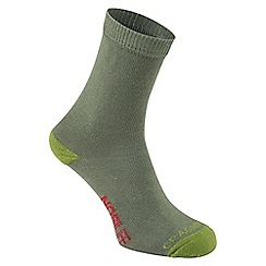 Craghoppers - Green 'Nosilife' kids travel socks
