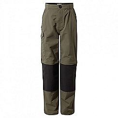Craghoppers - Kids pebble Nosilife convertible trousers