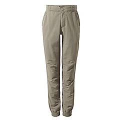 Craghoppers - Beige nosilife terrigal trousers