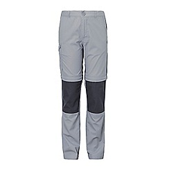 Craghoppers - Grey 'Kiwi' convertible trousers