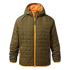 Craghoppers - Green 'Bruni' lightweight water-resistant jacket
