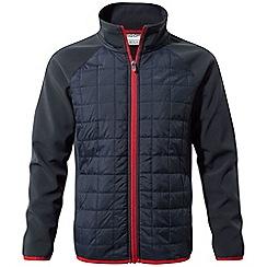 Craghoppers - Blue 'Boone' water-resistant hybrid jacket