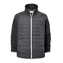 Craghoppers - Grey 'Boone' water-resistant hybrid jacket