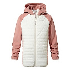 Craghoppers - Cream girls Neapolitan hybrid jacket