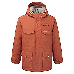 Craghoppers - Kids Burnt orange Alix insulating waterproof jacket