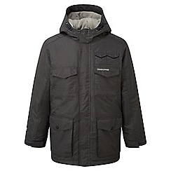 Craghoppers - Kids Black pepper Alix insulating waterproof jacket