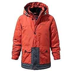 Craghoppers - Orange 'Scotton' insulated waterproof parka
