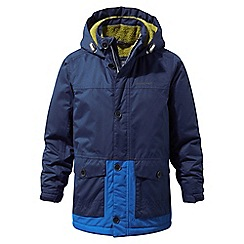 Craghoppers - Blue 'Scotton' insulated waterproof parka