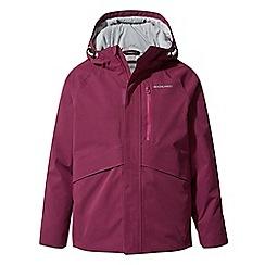 Craghoppers - Pink blake waterproof insulating jacket