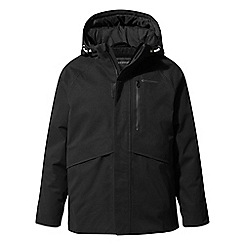 Craghoppers - Black blake waterproof insulating jacket