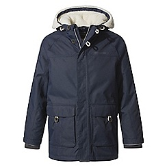 Craghoppers - Blue pherson waterproof insulating jacket