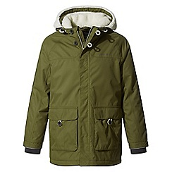 Craghoppers - Green pherson waterproof insulating jacket