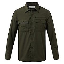 Craghoppers - Green adventure trek long sleeved shirt