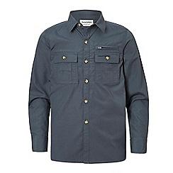 Craghoppers - Blue adventure trek long sleeved shirt
