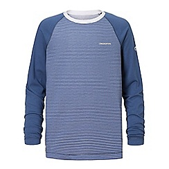 Craghoppers - Blue nosilife barnaby long sleeved tee