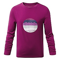 Craghoppers - Pink 'Erna' long sleeved tee