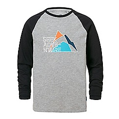 Craghoppers - Light grey discovery adventures long sleeved t-shirt