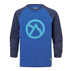 Craghoppers - Blue discovery adventures long sleeved t-shirt