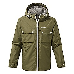Craghoppers - Green boys Fausto waterproof jacket