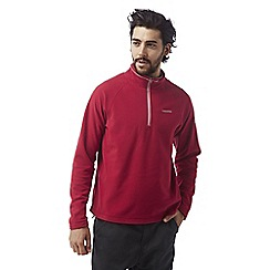 Craghoppers - Maple red Selby half zip microfleece