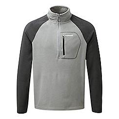 Craghoppers - Quarry grey C65 half zip lightweight fleece