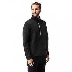 Craghoppers - Black vector half zip fleece