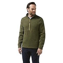 Craghoppers - Green vector half zip insulating fleece