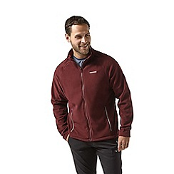 Craghoppers - Red 'Selby' full zip fleece