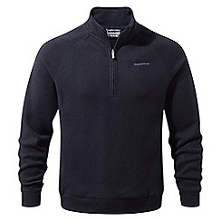 Craghoppers - Blue 'Norton' two tone half zip fleece